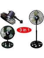 """KMY-1092 10"""" Three in One Fan"""