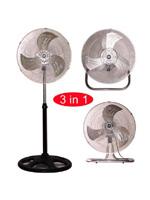 """KMY-1891 18"""" Industrial Three in One Fan"""