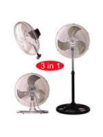 """KMY-1892 18"""" Industrial Three in One Fan"""