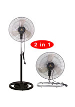 "KF-1806FP 18"" (45cm) Industrial Two in One Fan"