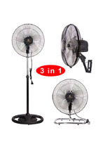 "KF-1806FPWB 18"" (45cm) Industrial Three in One Fan"
