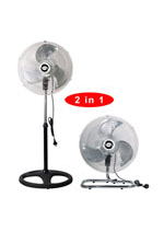 "KF-1890FP 18"" (45cm) Industrial Two in One Fan"