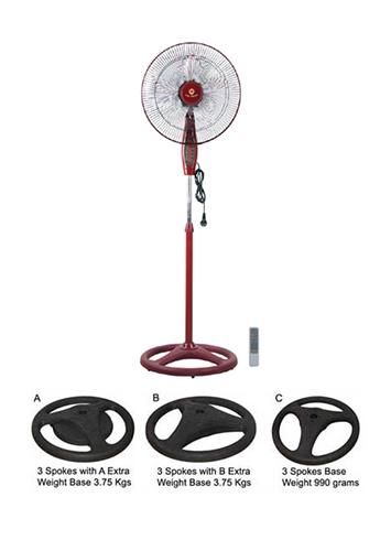 """KF-888RBN 18"""" (45cm) Stand Fan (Industrial Fan)"""